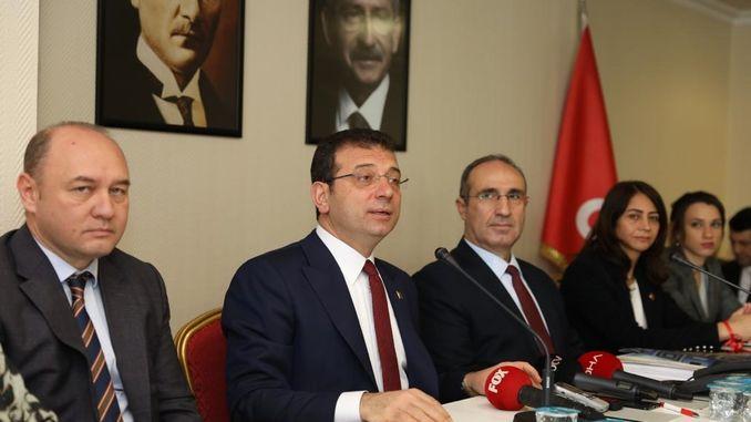imamoglundan मंत्री तुरहान चैनल istanbul प्रतिक्रिया लोगों ने जून में परियोजना को रद्द कर दिया