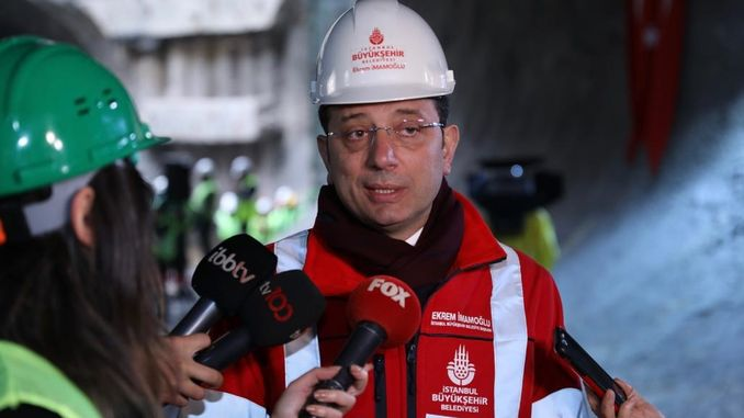 Imamoglu Calls for President Erdogan to Channel Istanbul