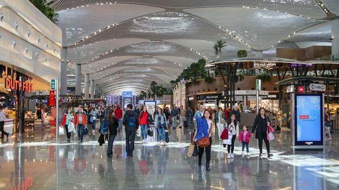 Ziel null am Flughafen Istanbul