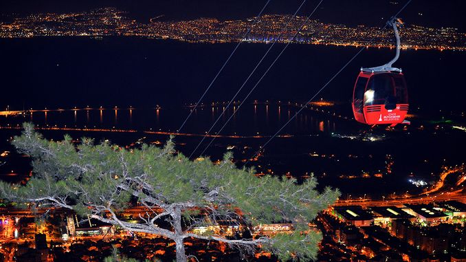 Izmir Balcova Teleferik Opening Hours and Ticket Prices