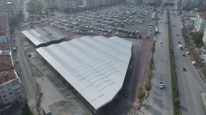 open auto market will be established in the old garage of manisa