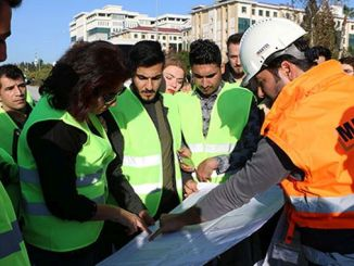 engineer candidates antalya stage rail system project examined