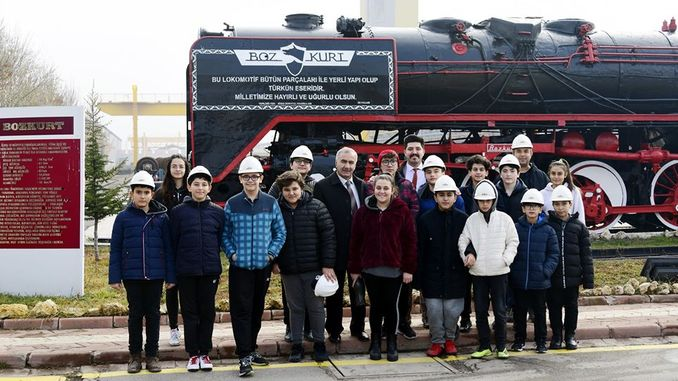 students were introduced to domestic freight wagons during the domestic financial week