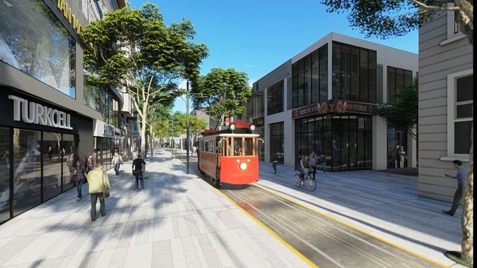 Sakarya Nostalgic tram project was introduced to the public