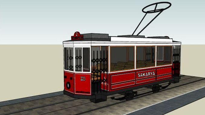 sakarya nostalgic tram will be introduced to the public on monday