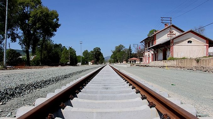 new development on samsun sivas railway line