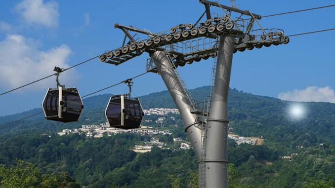 All details about the Sapanca cable car project