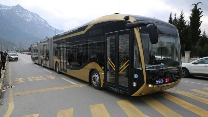 24-meter electric buses started to be tested