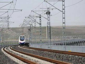 安卡拉西瓦斯高速铁路线耗资十亿tl