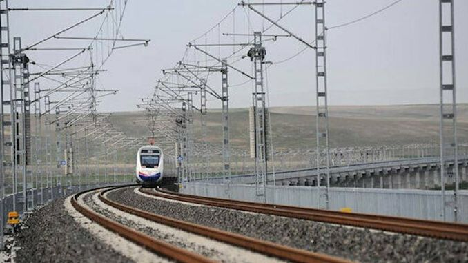 ankara sivas high speed train line cost billion tl