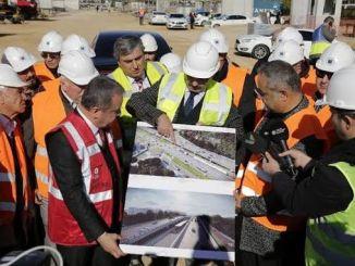 O sistema ferroviario antalya estará rematado ata abril