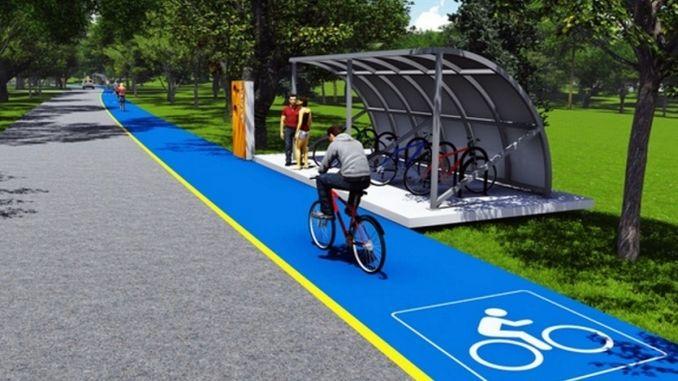 atil tren hatti bisiklet ve yuruyus yolu oluyor
