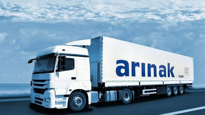 arinak logistics in azerbaijan project transport