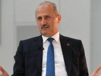 menteri turhan akan selesai seperti proyek saluran istanbul
