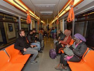 Pealinna Ankaray vagunid ütlesid, et kohad vahetati