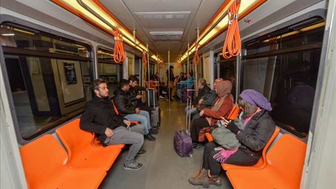 Ankaray wagons of the capital said the seats changed