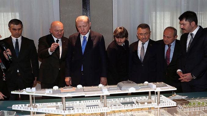 Rais anapokea habari kuhusu erdogan galataport mradi