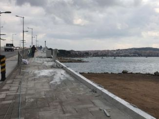 The view of Cunda Bridge is more beautiful now