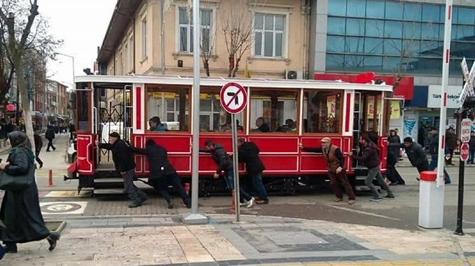 nostalgic tram story