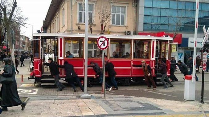 история на носталгичния трамвай