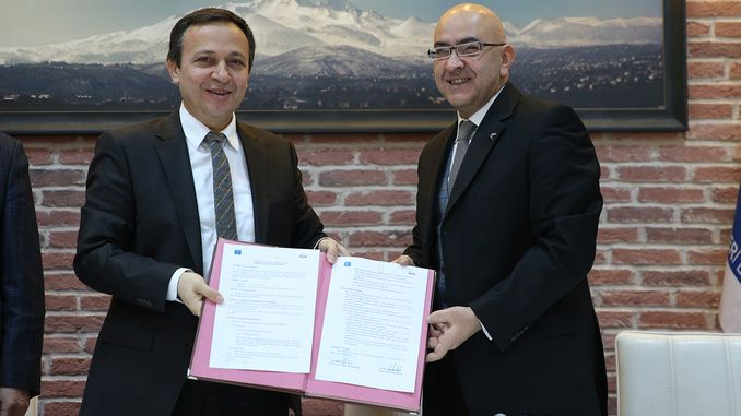 A career protocol was signed at the summit between eru and erciyes as
