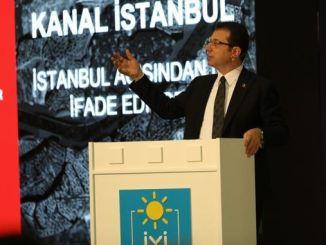 Истанбул имаммоглудански канал го нарекуваат погрешен мраз