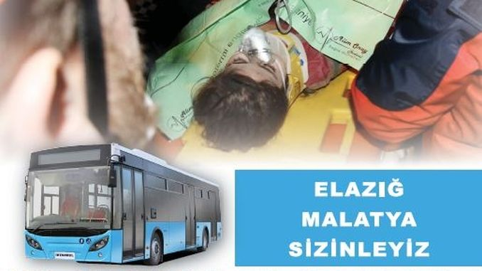 Bas awam swasta Istanbul akan bekerja untuk mangsa gempa bumi