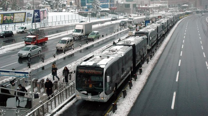 aof exam day transportation in istanbul free