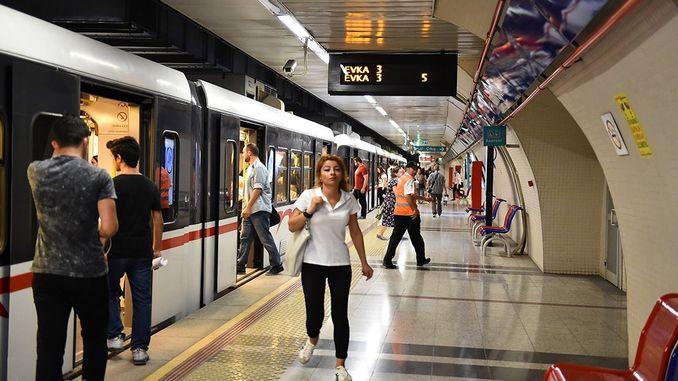 izmir subway and tram million passengers