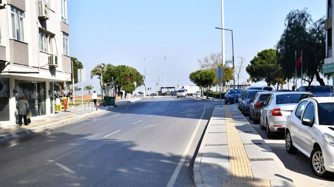 izmir residents attention guzelyali street will be closed to traffic for two months