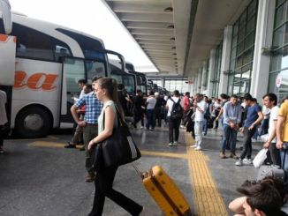 million passengers carried by road last year