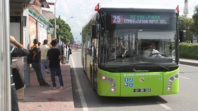 kocaelide will transfer the bus