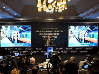 Details of the project were shared at the Mersin Metro meeting