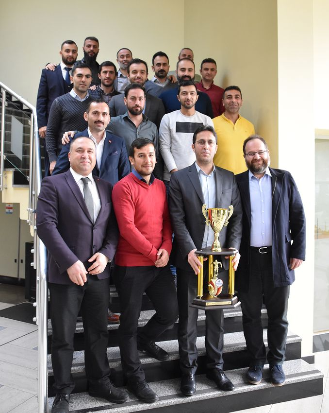 metro istanbul football team received the award