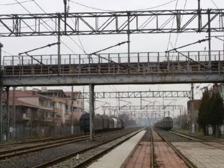 muratli train station upper gate bridge service was renewed