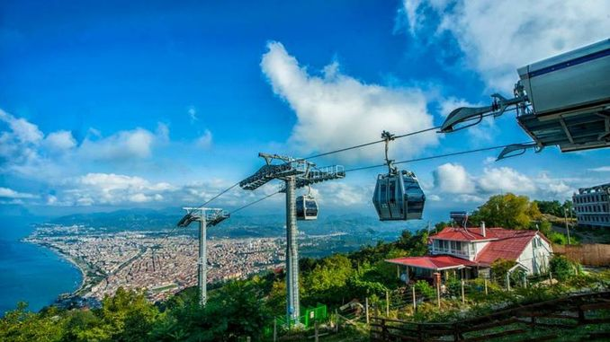 army boztepe cable car also moved a thousand passengers