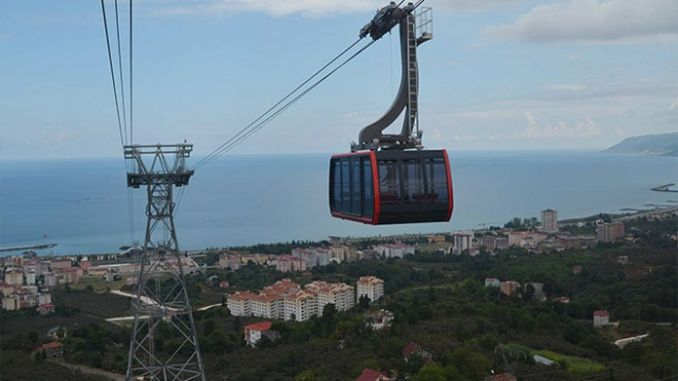 trabzon besikduzu cable car ticket prices and schedules