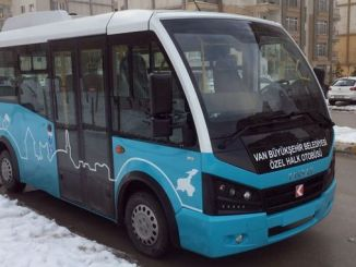 van ozel public buses transformation project started