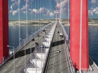 le pont de canakkale sera le pont des icônes