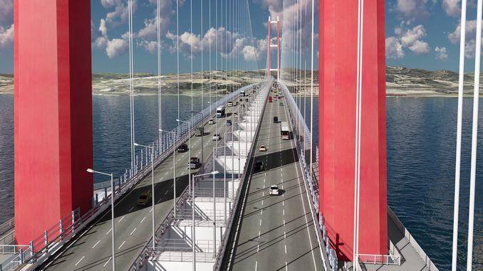 jembatan canakkale akan menjadi jembatan ikon