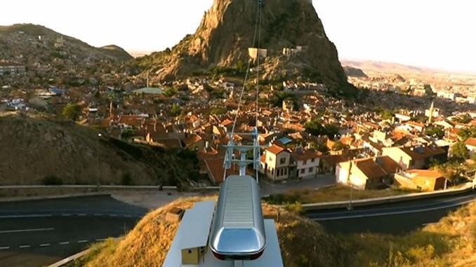 afyonkarahisar castle cable car tender is finally held