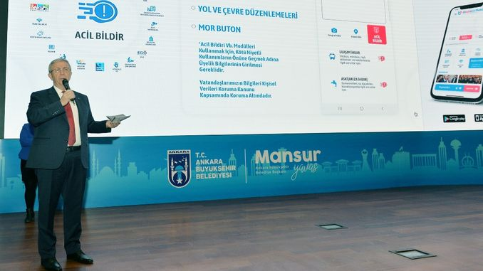 ankara baskent will compete with the world cities with mobile