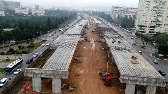 antalya stage rail system project continues at full speed