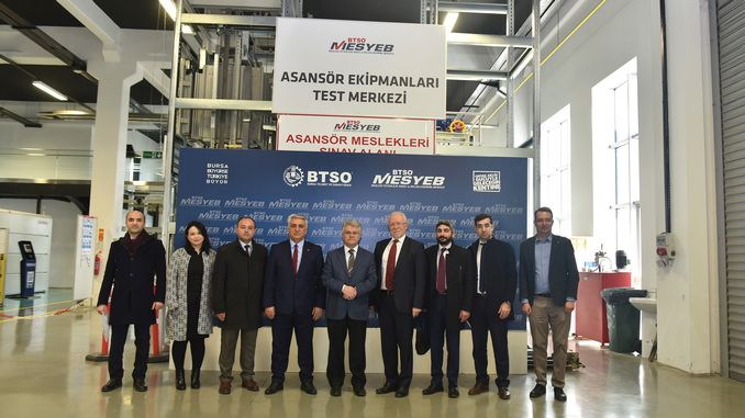 Elevator Testing Center with Equity Remains in Turkey