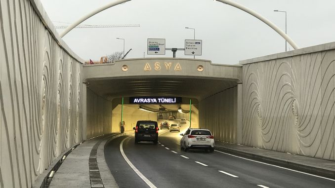 Eurasia tunnel car did not keep pass guarantee, treasury will pay money for million vehicles