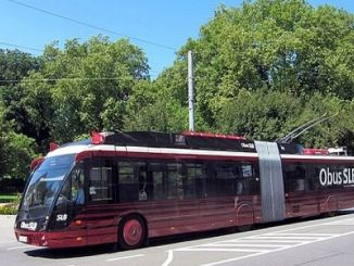 ʻO ka ʻōnaehana kūpono kūpono no ka Pelekikena Demir Samsun trolleybus