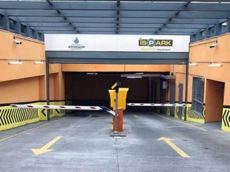 Bayrampasa altintepsy parkeringshus med flera våningar öppnades