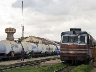 Über Burkina Faso Eisenbahn