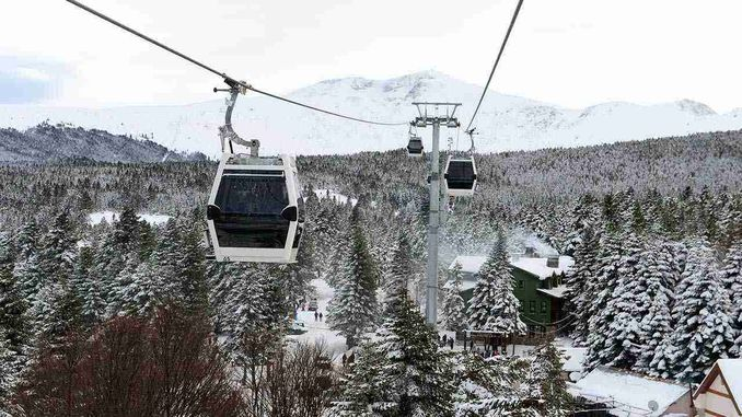 severe wind barrier for budo and cable car services in bursa