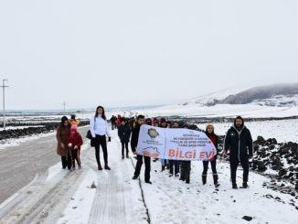 diyarbakirlin opiskelijat pitivät hauskaa karacadagin hiihtokeskuksessa